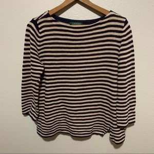 Ralph Lauren 3/4 Sleeve Knit Sweater